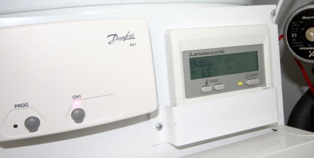 RHI Heat Pump Controls Cornwall