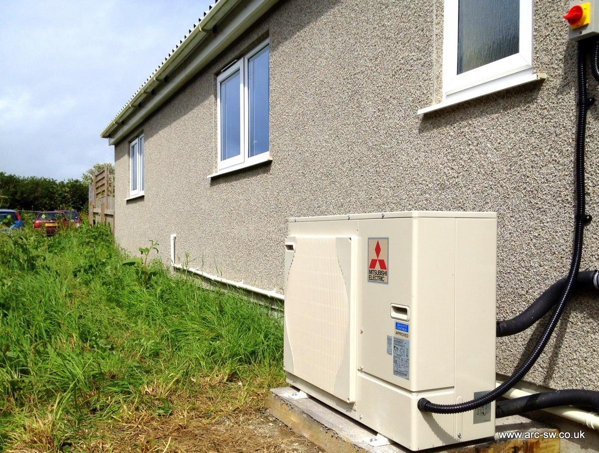 Heatpump Installation Helston Cornwall Industrial Estate Heat Pump Installation Greengenuk