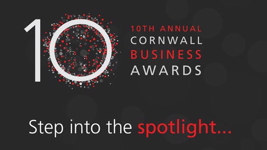 Cornwall Business Awards are celebrating their tenth annual event