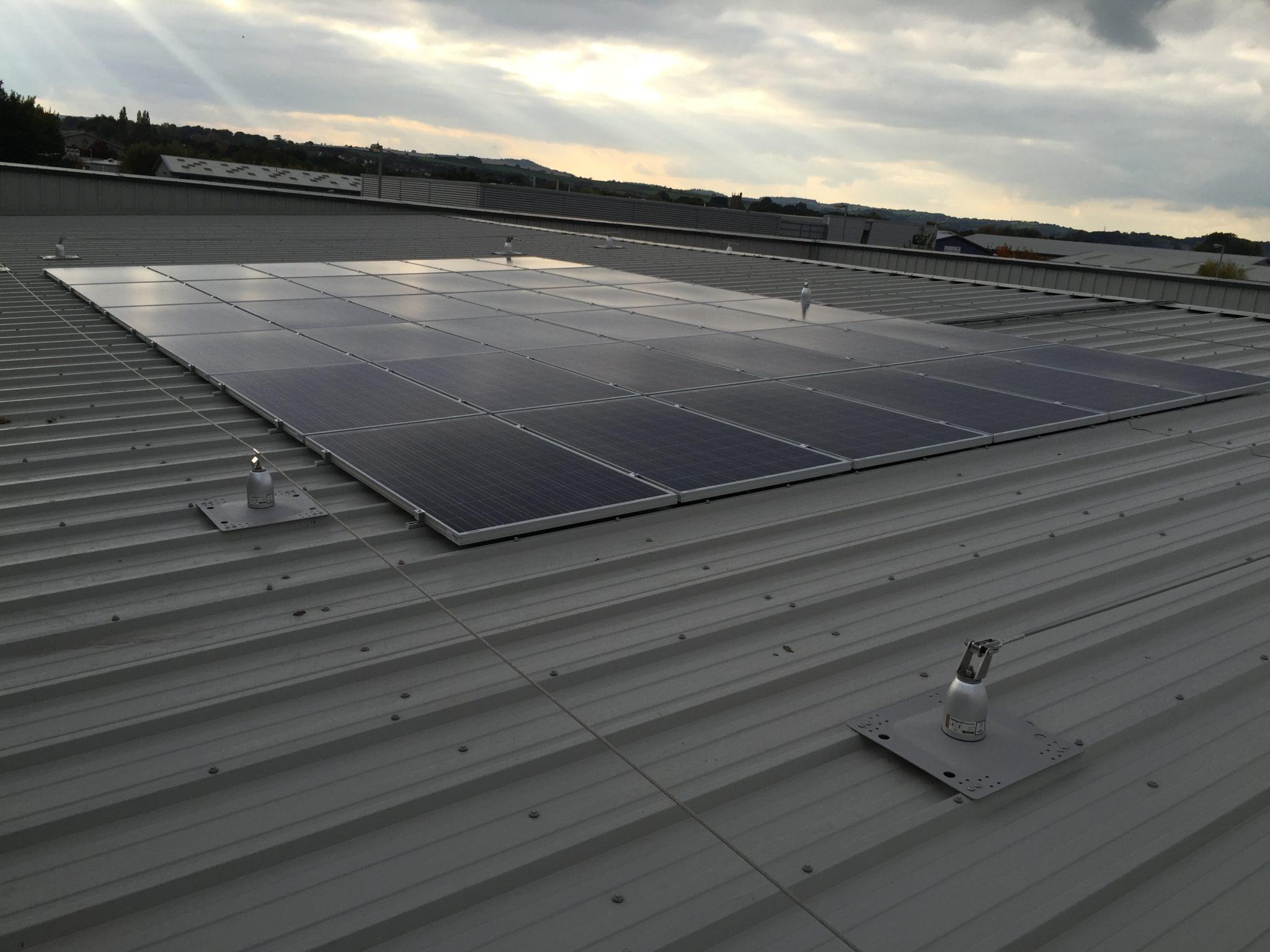 A 9kW solar PV installation.
