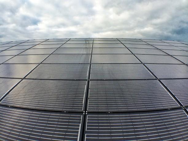 A 20kW SolarWorld solar PV array