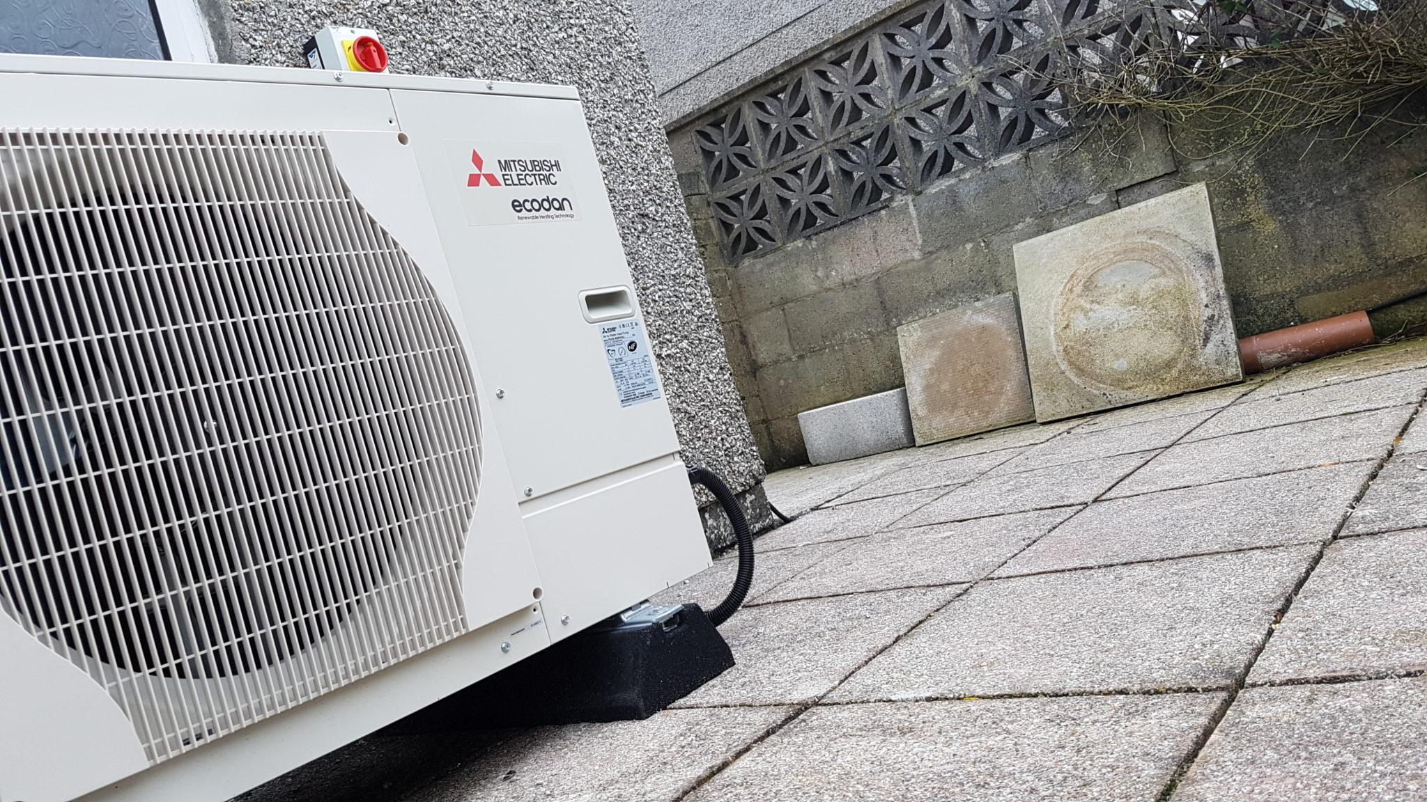 #5B4F43 5kW Air Source Heat Pump Installation The Lizard GreenGenUK Most Effective 6765 Through The Wall Heat Pumps pictures with 2048x1152 px on helpvideos.info - Air Conditioners, Air Coolers and more