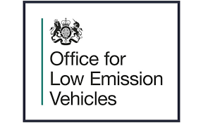 The OLEV grant logo (Office for Low Emission Vehicles)