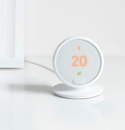 A Nest Thermostat E