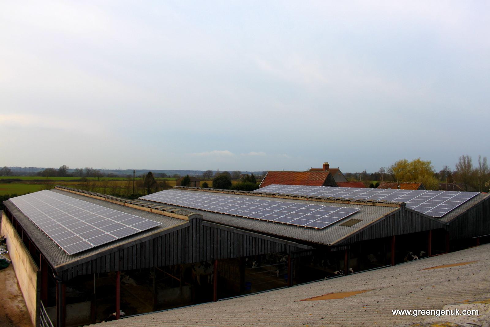 Two Pools Farm 100kw Solar Pv Install