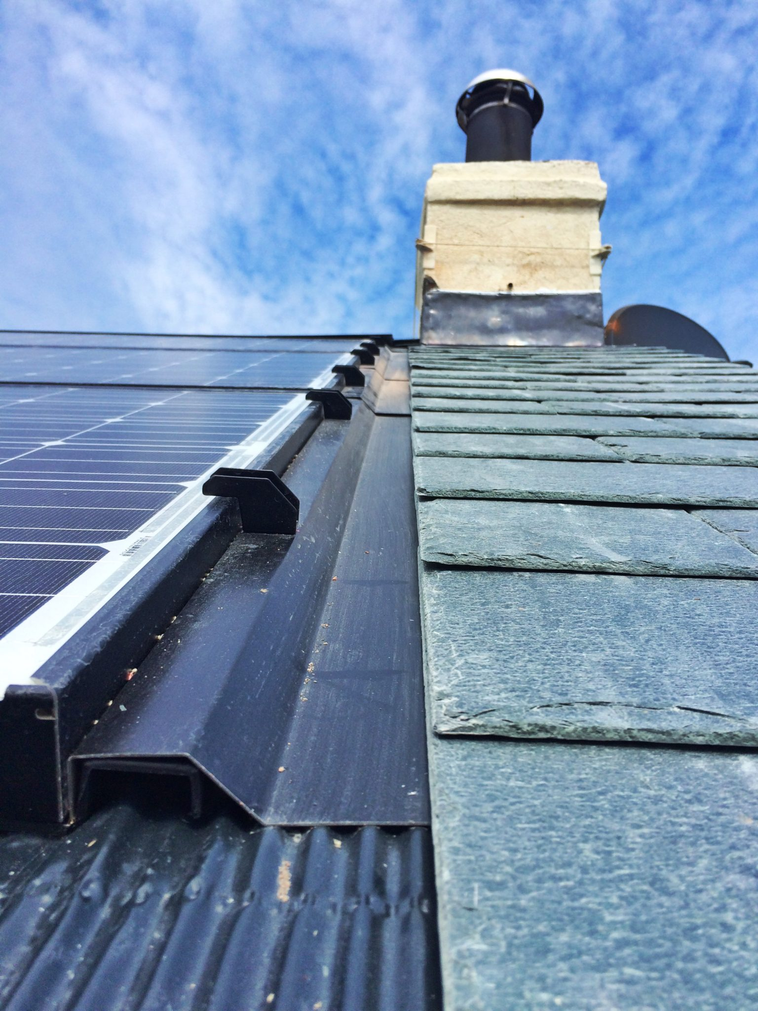 A GreenGenUK renewable energy solution, installed in Cornwall.