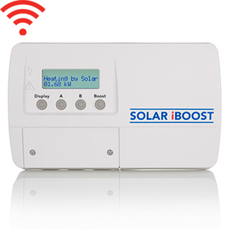 The Solar iBoost hot water diverter